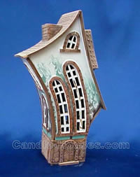 Clay Candle Holder, Candle House